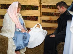 Smyrna UMC - Joseph, Mary & Jesus
